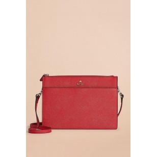 Women's Red Red Fleece Shoulder Bag