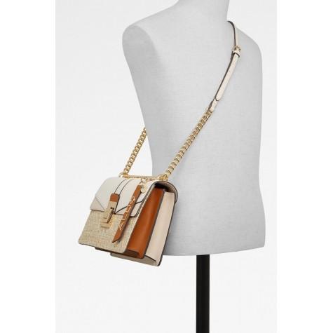 Beige Women's Cross Bag